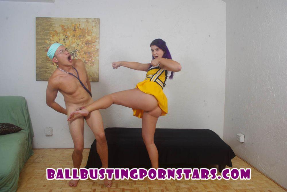 Andi Mae In Scene: Big Booty Teen Ballbusting - BALLBUSTINGPORNSTARS - HD/720p/MP4