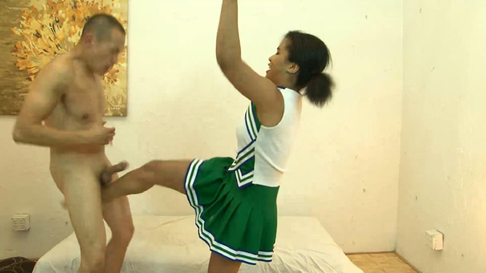 Loni Legend In Scene: Ebony Teenage Cheerleader Ballbusting - BALLBUSTINGPORNSTARS - FULL HD/1080p/MP4