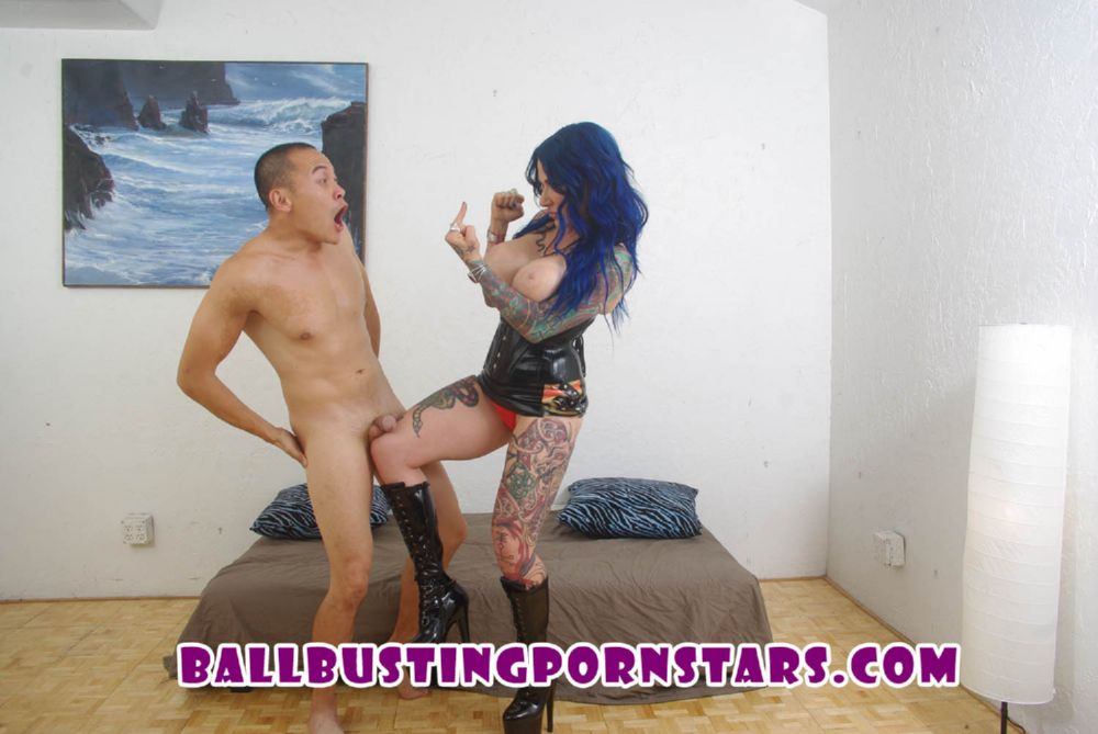 Jenevieve Hexxx In Scene: Dominatrix Ballbusting in Boots - BALLBUSTINGPORNSTARS - FULL HD/1080p/MP4