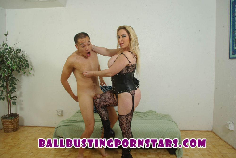 Savannah Jane In Scene: Thick and Juicy MILF Ballbusting - BALLBUSTINGPORNSTARS - FULL HD/1080p/MP4