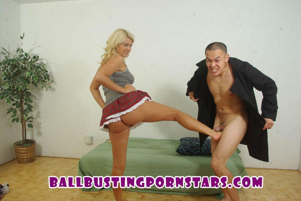 Layla Price In Scene: Schoolgirl Flasher Ballbusting - BALLBUSTINGPORNSTARS - FULL HD/1080p/MP4