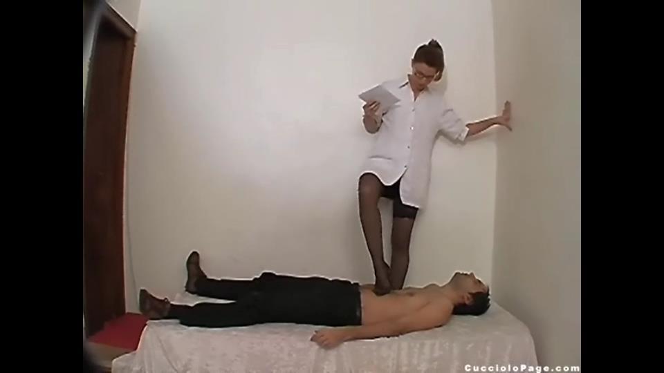 Goddess Rosie, Slave Cucciolo In Scene: Medical Check-Up - trample and jump - CUCCIOLOPAGE - SD/540p/MP4