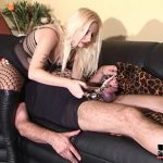 Kelly Kalashnik In Scene: CHASTITY SLAVE THINKS HE CAN CUM – FACESITTING-QUEEN – SD/576p/WMV