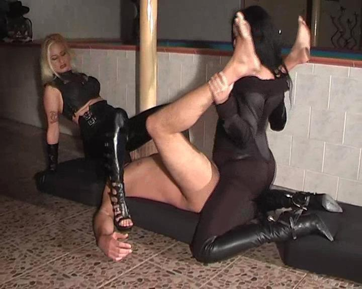 Kelly Kalashnik, Dominatrix Dinah In Scene: FACE SQUASHED & ASS FUCKED - FACESITTING-QUEEN - SD/576p/WMV
