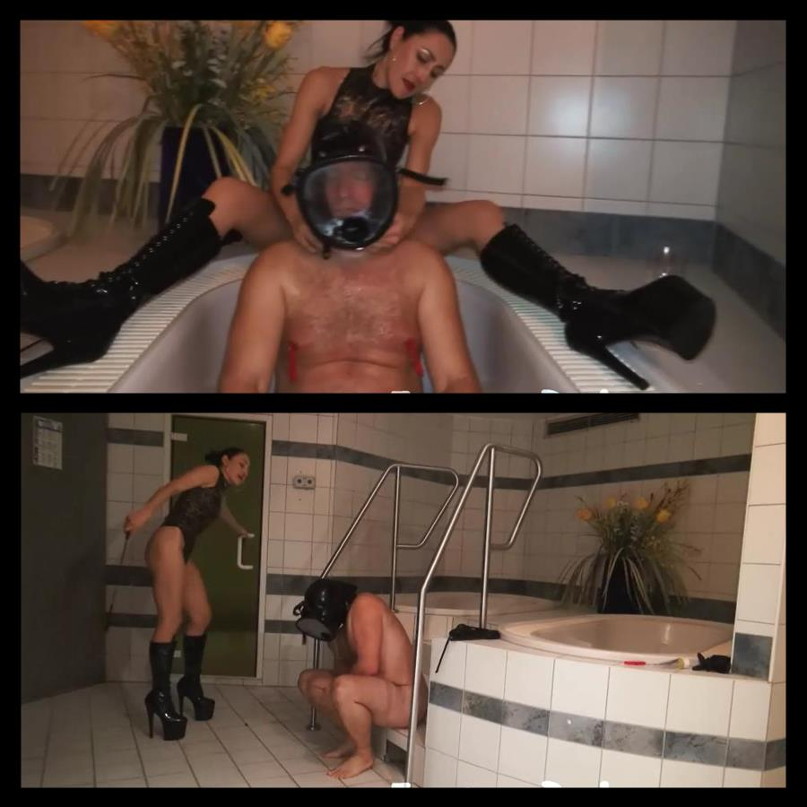 Baroness Bijou, Mistress Michelle In Scene: Behind the Fetish Party - FEMDOM-BERLIN - SD/540p/WMV