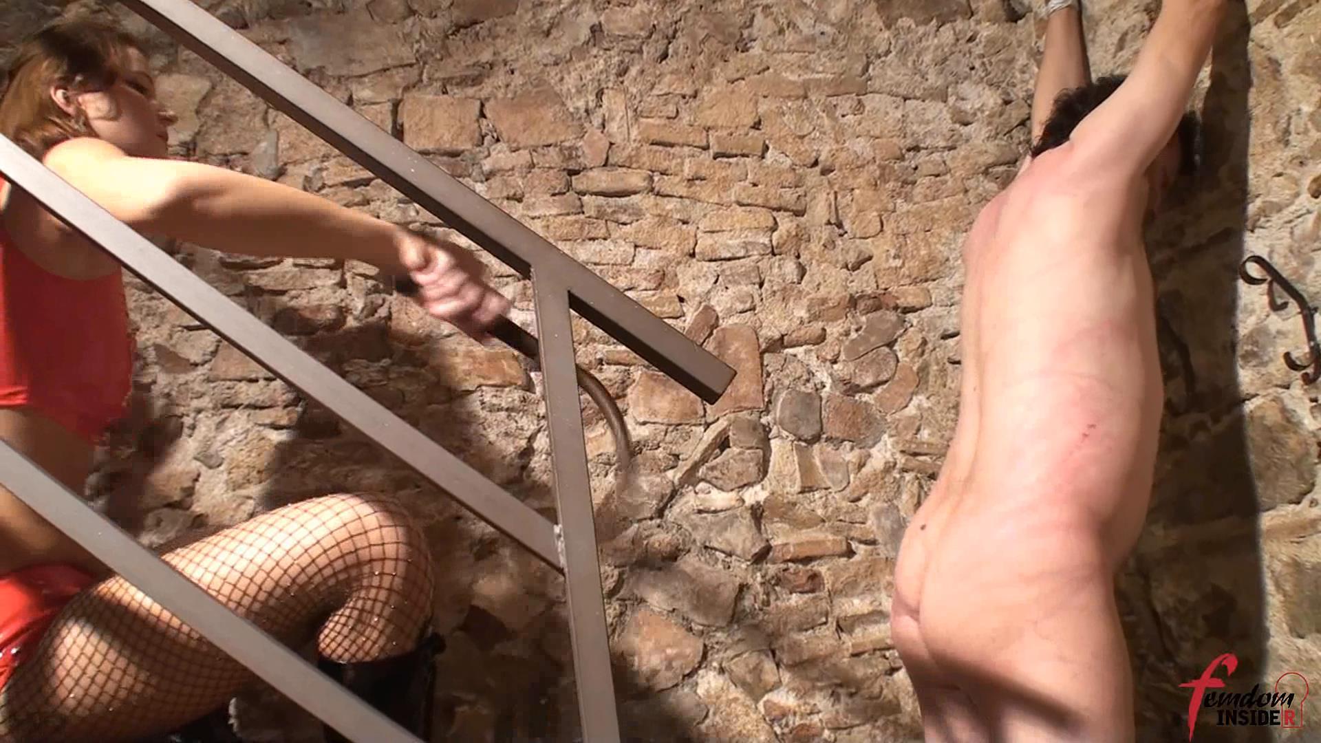 Mistress Nataly In Scene: Stairway To Pain - FEMDOMINSIDER - FULL HD/1080p/WMV