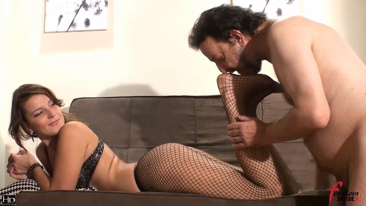Mistress Nataly In Scene: Sweet Stockings - FEMDOMINSIDER - HD/720p/WMV