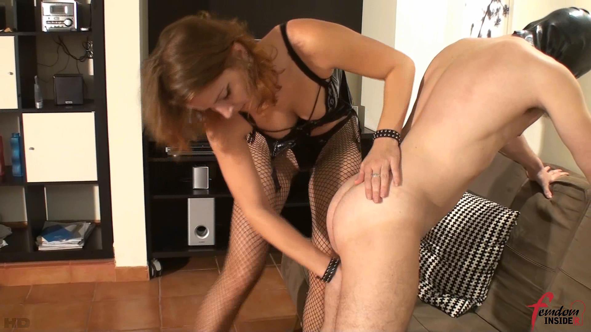 Mistress Nataly In Scene: The Ball Squeezer - FEMDOMINSIDER - FULL HD/1080p/WMV