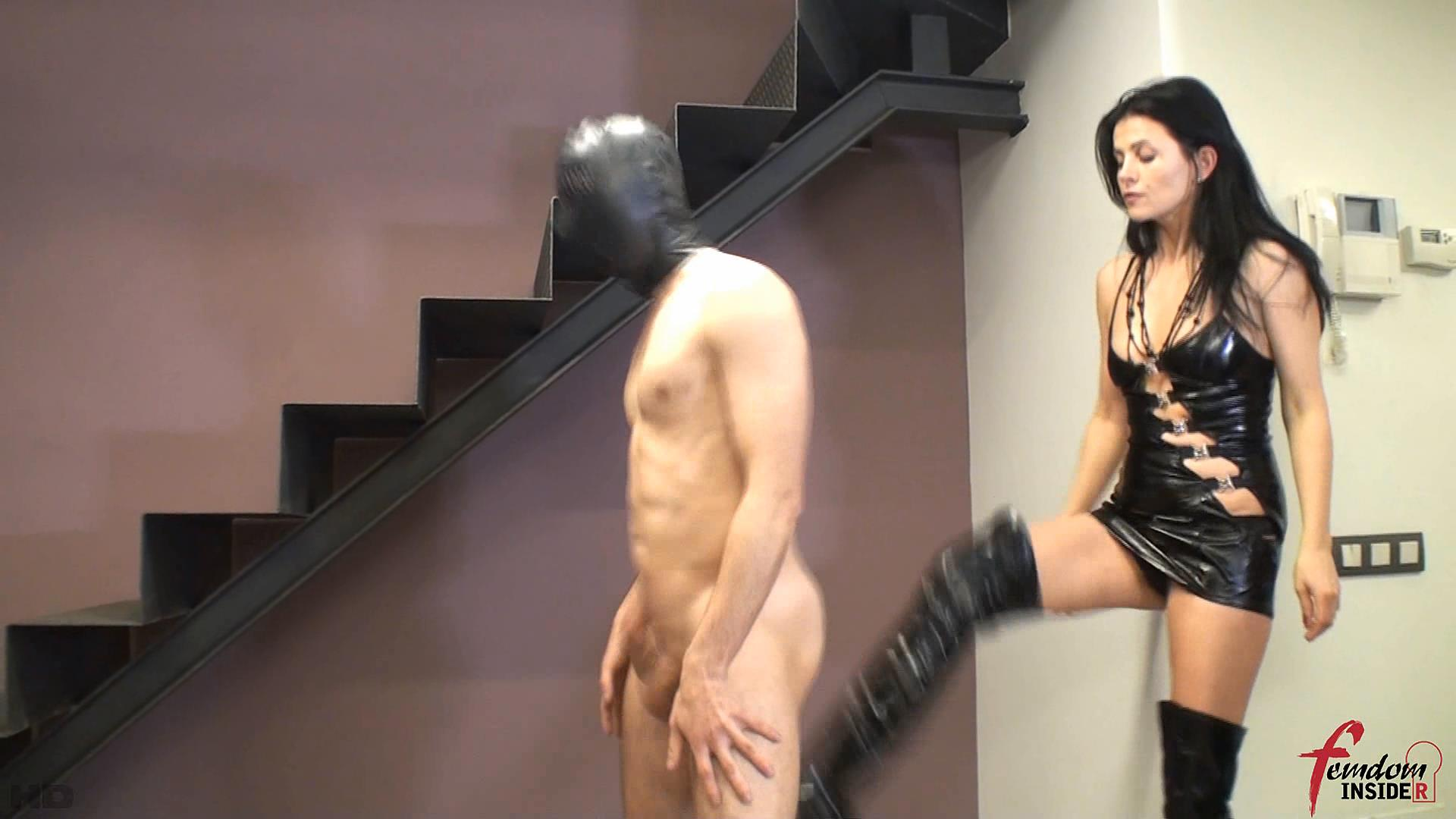 Mistress Soraya In Scene: No Mercy Ballkicking In Boots - FEMDOMINSIDER - FULL HD/1080p/WMV