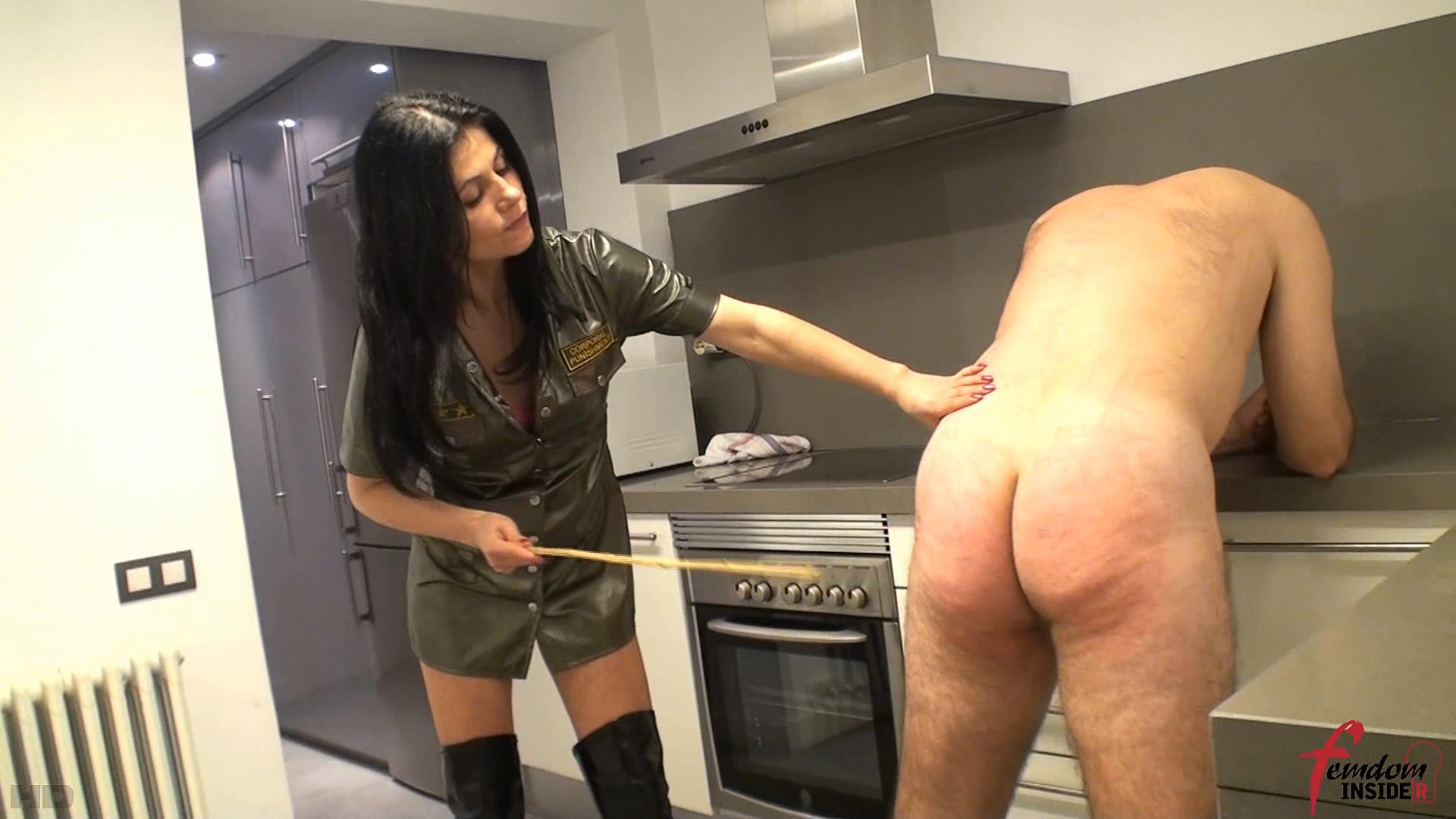 Mistress Soraya In Scene: Severe Military Caning - FEMDOMINSIDER - FULL HD/1080p/WMV
