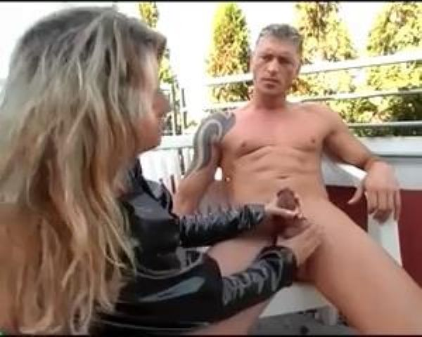 Mistress In Scene: German Mistress squeezing and tying cock and balls - FEMDOMLOFT - LQ/240p/MP4