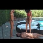 Mistress In Scene: Male and female couple pampering and worshipping their Mistress – FEMDOMLOFT – LQ/240p/MP4