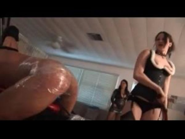 Mistress In Scene: Femdom party with several Mistresses using and punishing their male slaves - FEMDOMLOFT - LQ/240p/MP4