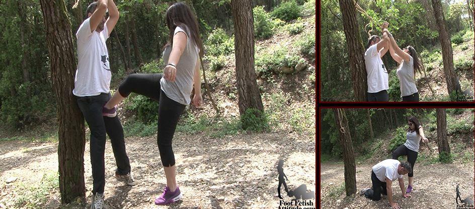 Mistress Lea In Scene: Brutal beating - FOOTFETISHATTITUDE - SD/576p/WMV