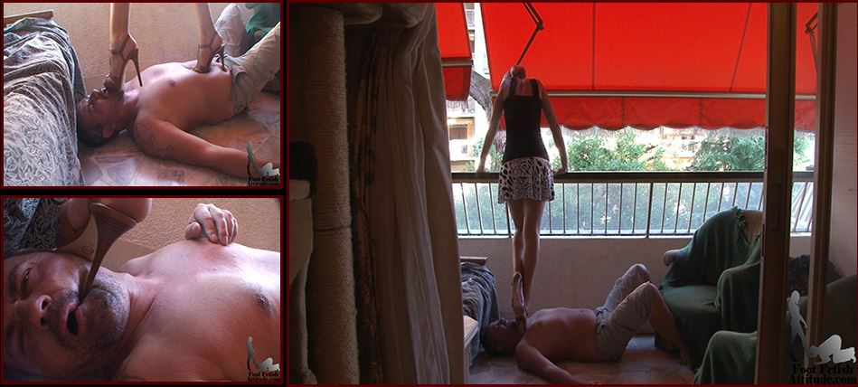 Mistress Kitty In Scene: Cruel trample under luxurious hi heels - FOOTFETISHATTITUDE - SD/576p/WMV