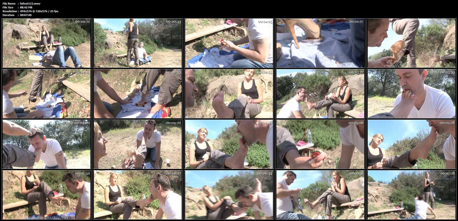 Mistress Kitty In Scene: The shoeshine boy - FOOTFETISHATTITUDE - SD/576p/WMV