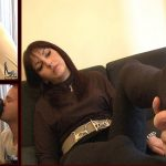 Mistress Stephanie In Scene: Forced foot smelling afer a long say – FOOTFETISHATTITUDE – SD/576p/WMV