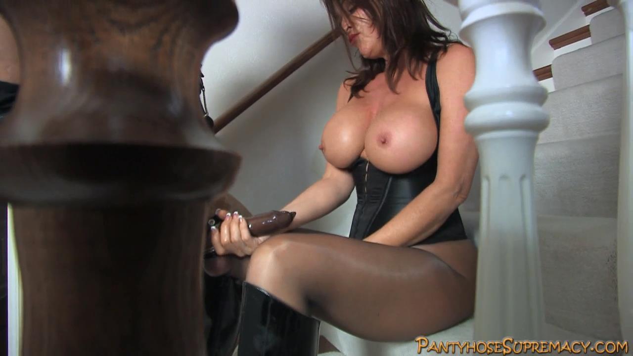 Mistress Rachel Steele In Scene: Stairway Slut Part 2 of 3 - PANTYHOSESUPREMACY - HD/720p/MP4