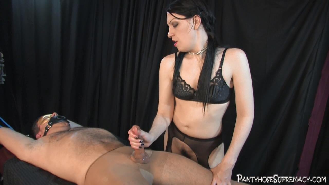 Mistress Danielle In Scene: The Milking Game Part 2 of 3 - PANTYHOSESUPREMACY - HD/720p/MP4
