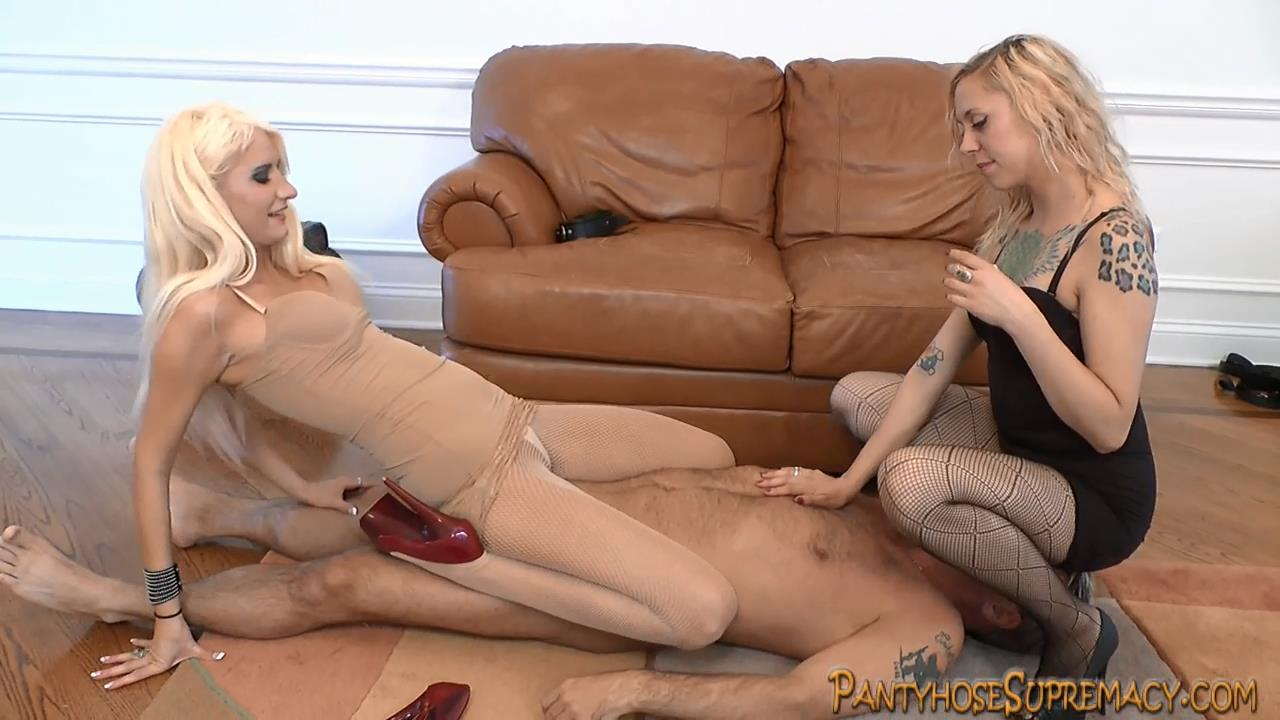 Mistress Monica, Mistress Summer In Scene: Try A Little Harder Part 1 of 4 - PANTYHOSESUPREMACY - HD/720p/MP4