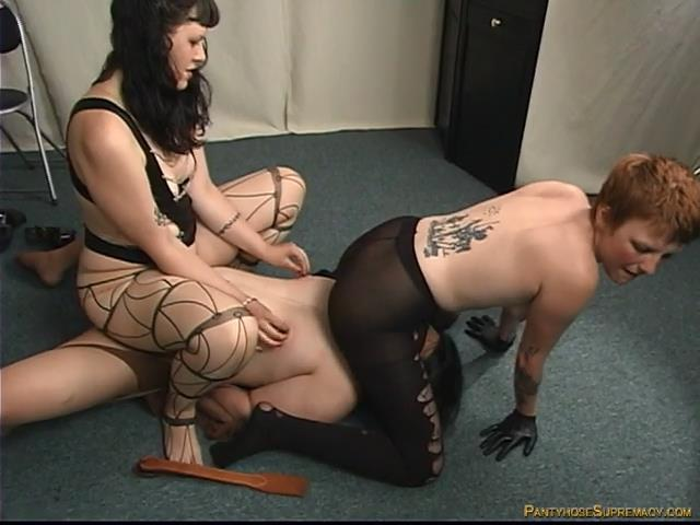 Mistress Isobel, Mistress Nicole In Scene: Ass Piggy - PANTYHOSESUPREMACY - SD/480p/MP4