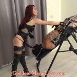 Goddess Maya Liyer In Scene: Chained and Made to Suck Strapon – REAL-FEMDOM-CLIPS – FULL HD/1080p/MP4