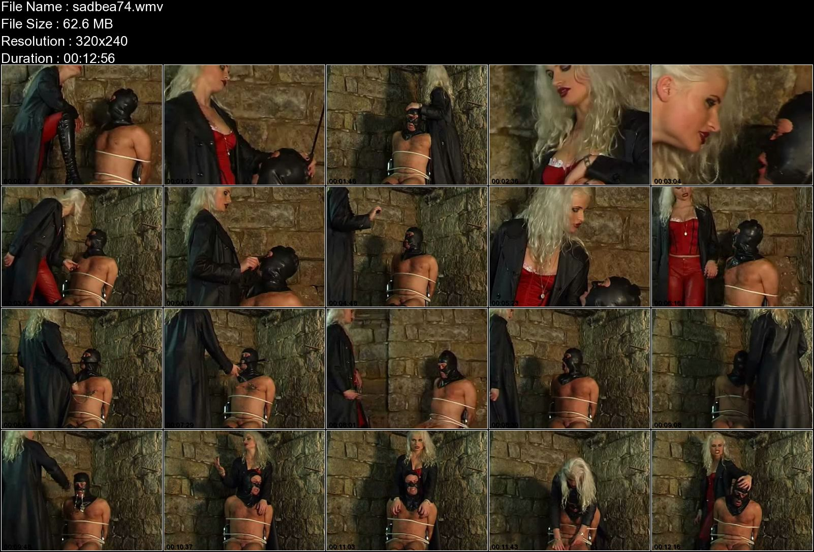 SYONERA VON STYX In Scene: INTERROGATION - SADOBEAUTIES - LQ/240p/WMV