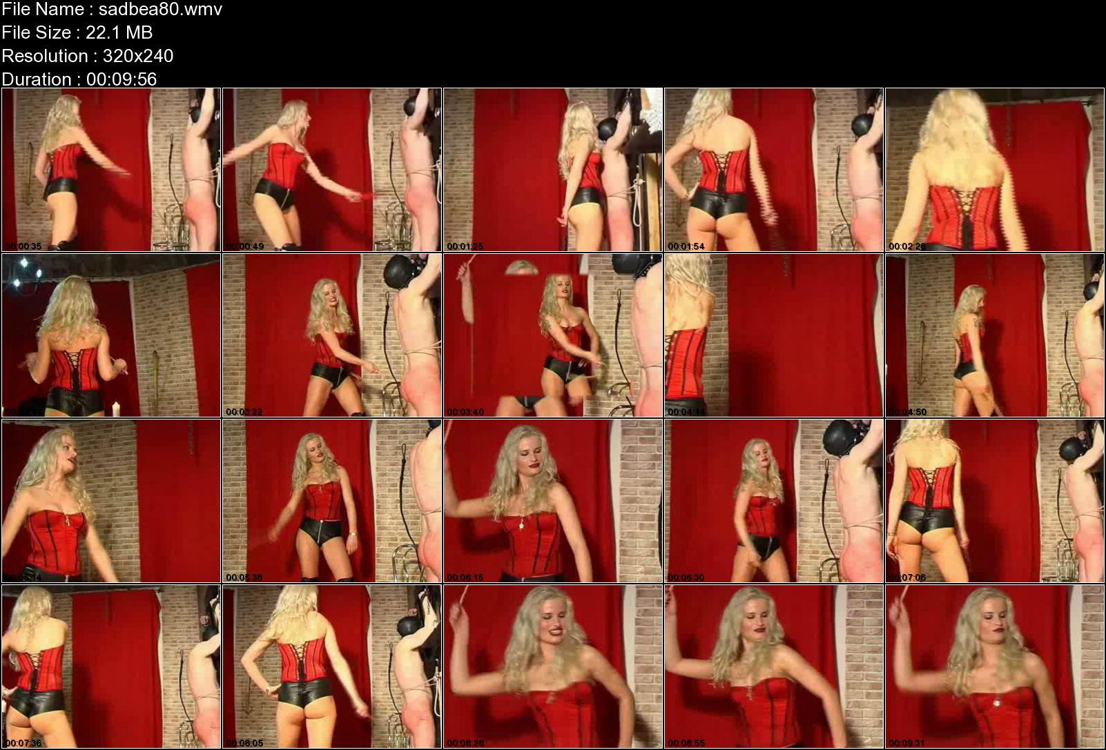 SYONERA VON STYX In Scene: ABRICHTUNGEN - SADOBEAUTIES - LQ/240p/WMV