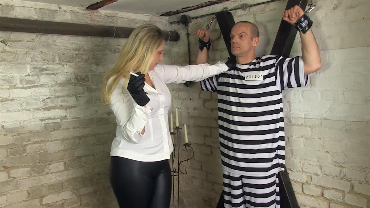 Lady Faye In Scene: Ashtray Prisoner - SADO-LADIES - HD/720p/MP4