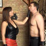 Ella Kros In Scene: Leather Faceslaps – SADO-LADIES – HD/720p/MP4