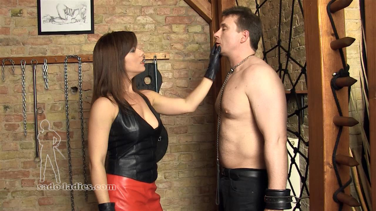Ella Kros In Scene: Leather Faceslaps - SADO-LADIES - HD/720p/MP4