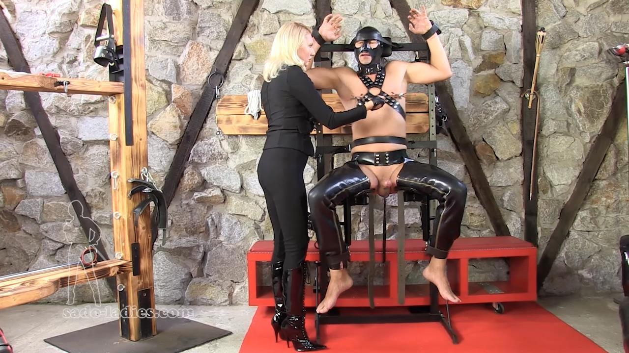 Mistress Akella In Scene: Just Four Digits - SADO-LADIES - HD/720p/MP4