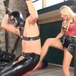 Mistress Akella In Scene: Trashing Balls Is Fun – SADO-LADIES – HD/720p/MP4