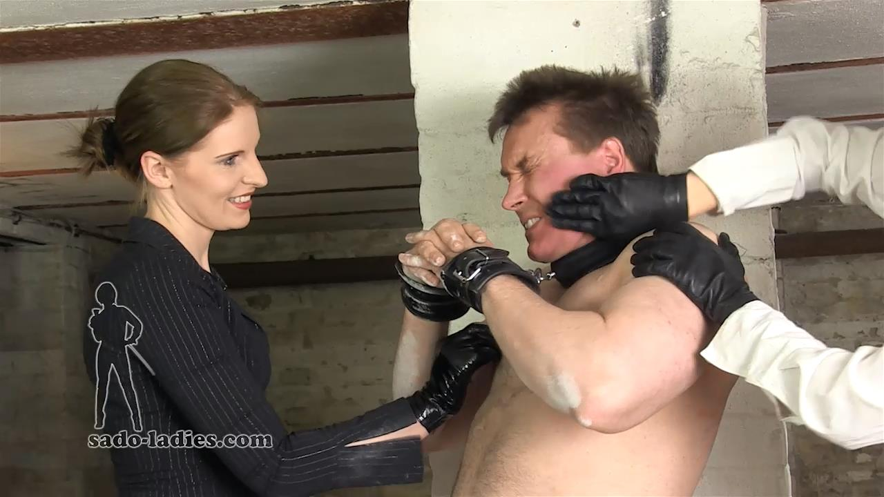 Mistress Cloe In Scene: Strong Man Trashed - SADO-LADIES - HD/720p/MP4