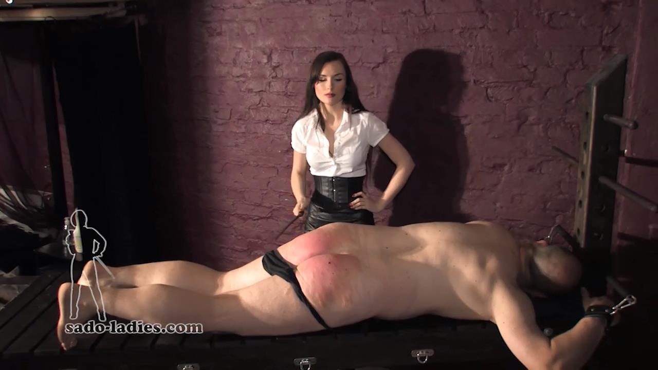 Miss Leni In Scene: The Lazy Slave 6 - SADO-LADIES - HD/720p/MP4