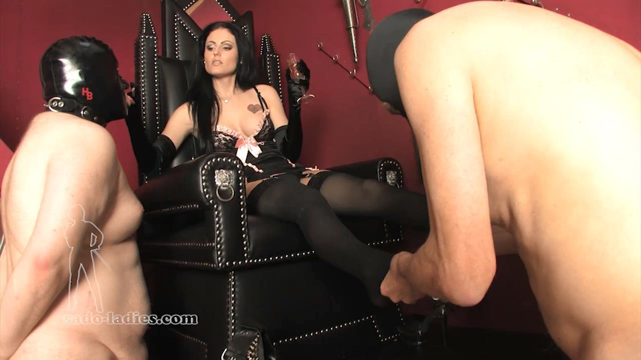 Mistress Blackdiamoond In Scene: Young Goddess - SADO-LADIES - HD/720p/MP4