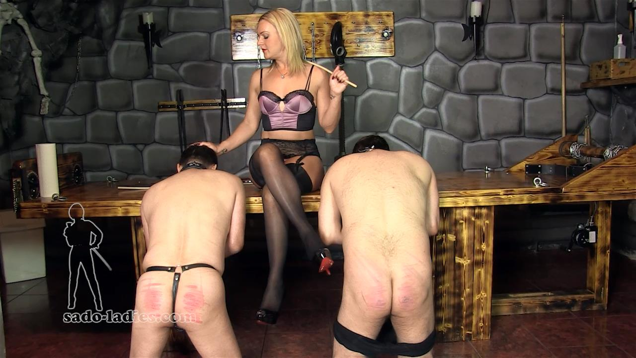 Mistress Athena In Scene: A Painful Quiz - SADO-LADIES - HD/720p/MP4