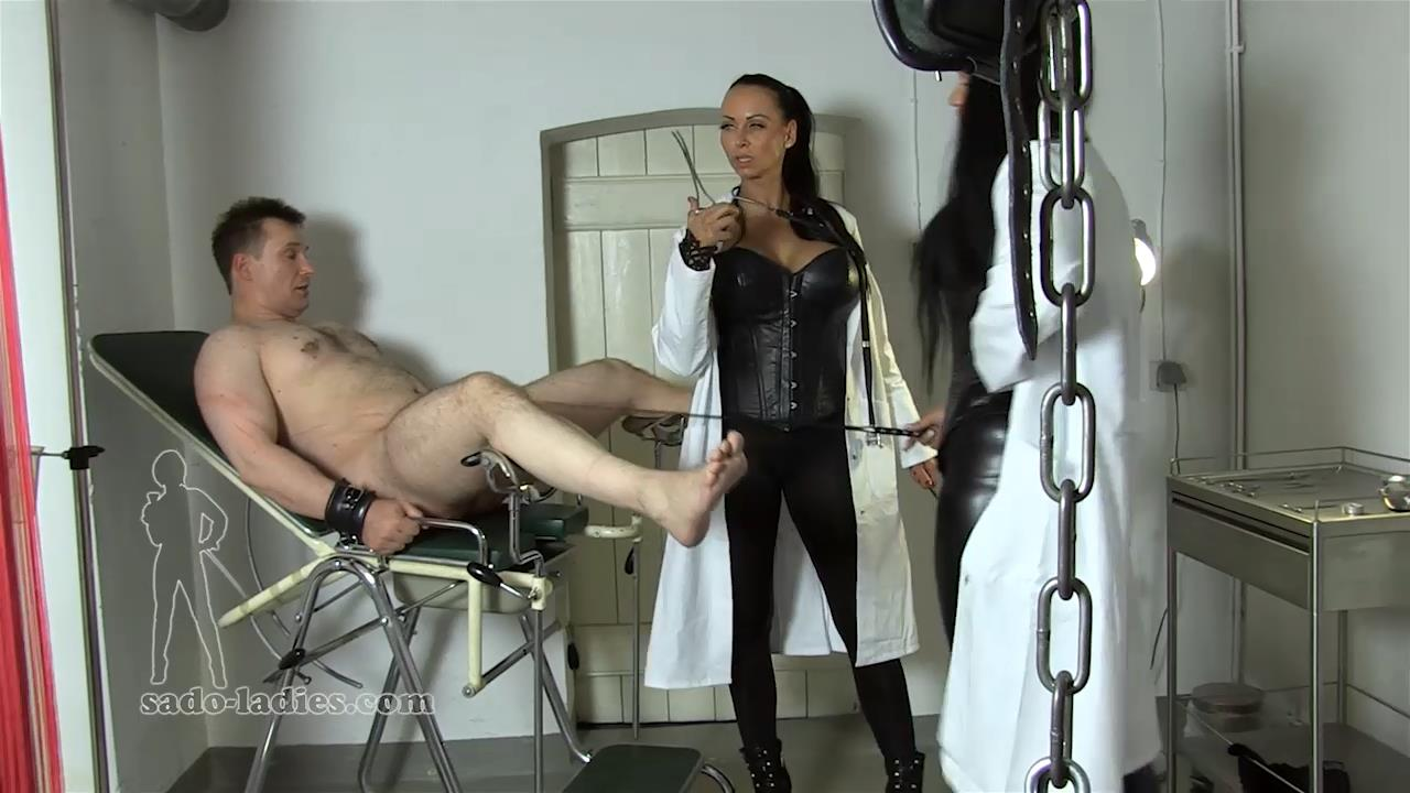 Lady Blackstone, Mistress Jenna In Scene: Sadistic Woman Doctors - SADO-LADIES - HD/720p/MP4