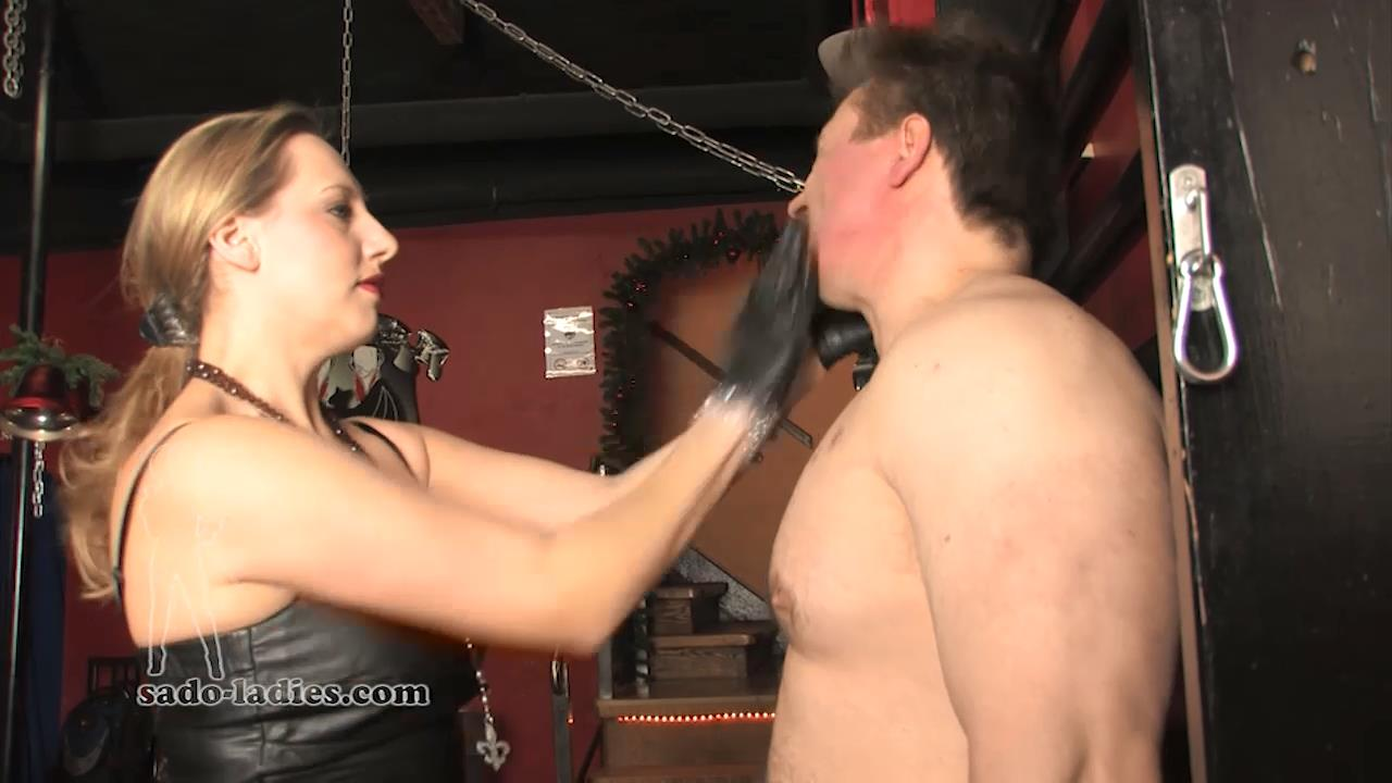 Lady Faye In Scene: Face Slapping Marathon - SADO-LADIES - HD/720p/MP4