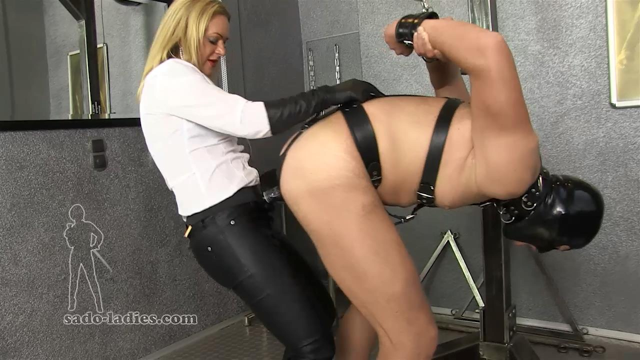 Mistress Athen In Scene: The Anal Trainer - SADO-LADIES - HD/720p/MP4