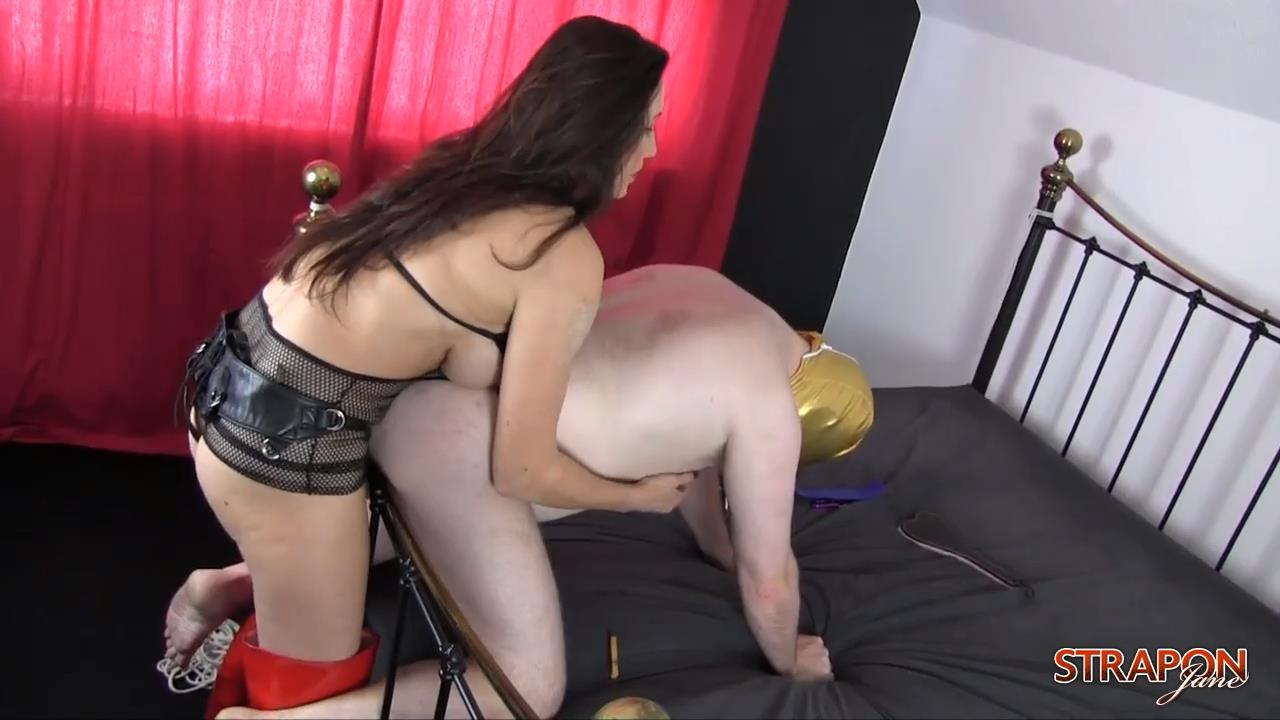 Strap On Jane In Scene: My Virgin Dog - little submissive doggy - STRAPONJANE - HD/720p/MP4