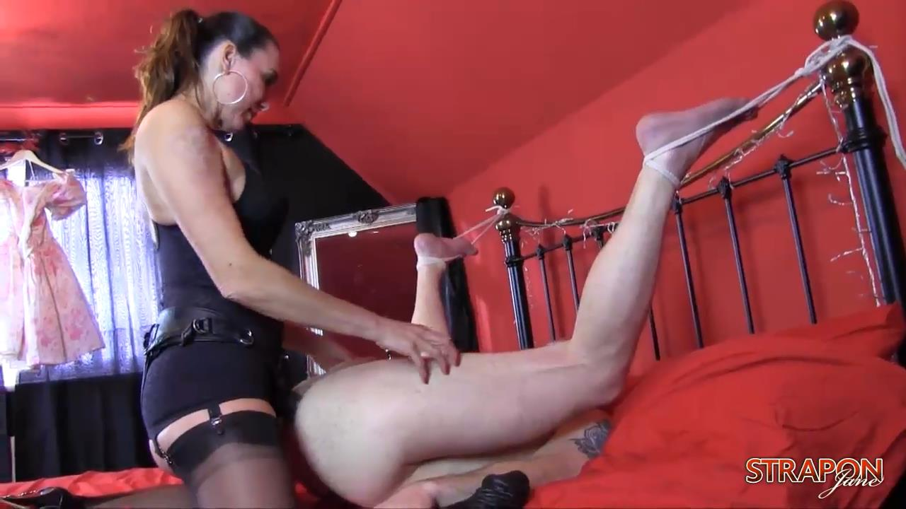 Strap On Jane In Scene: Feeling Raw - monster toys - STRAPONJANE - HD/720p/MP4