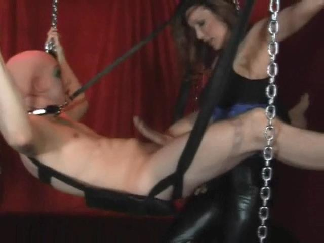 Strap On Jane In Scene: The Masked Swinger - Masks, swings and subs - STRAPONJANE - SD/480p/MP4