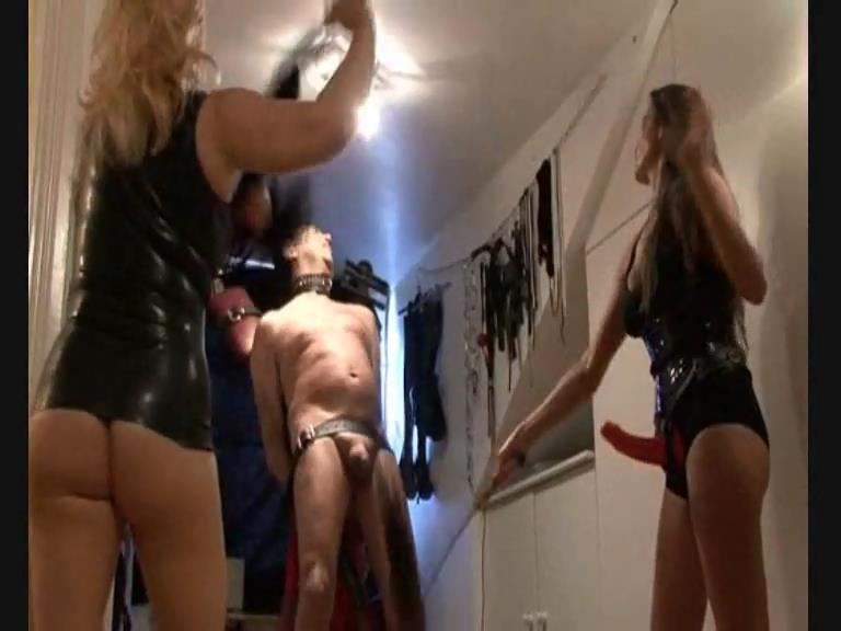 Strap On Jane In Scene: Slave Gets A Flogging - little sissy got the full treatment - STRAPONJANE - SD/576p/MP4