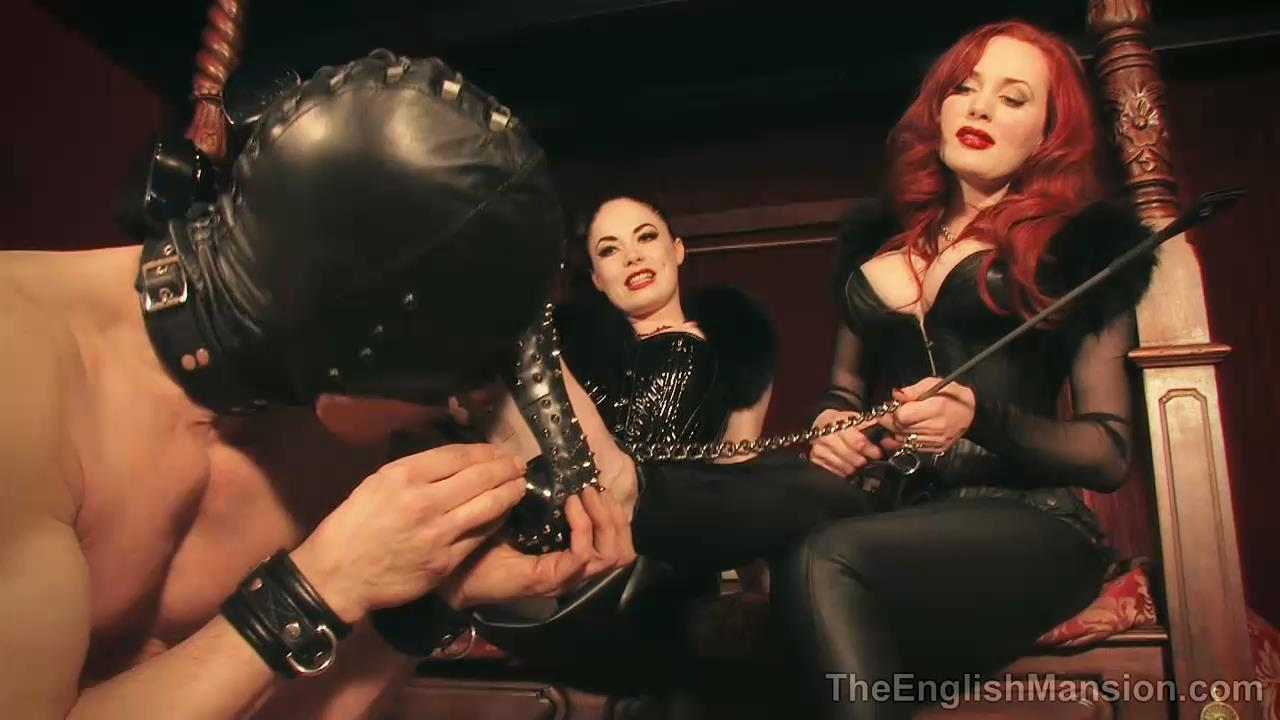 Lady Sophia Black, Morrigan Hel In Scene: Hel and Black - THEENGLISHMANSION - HD/720p/MP4