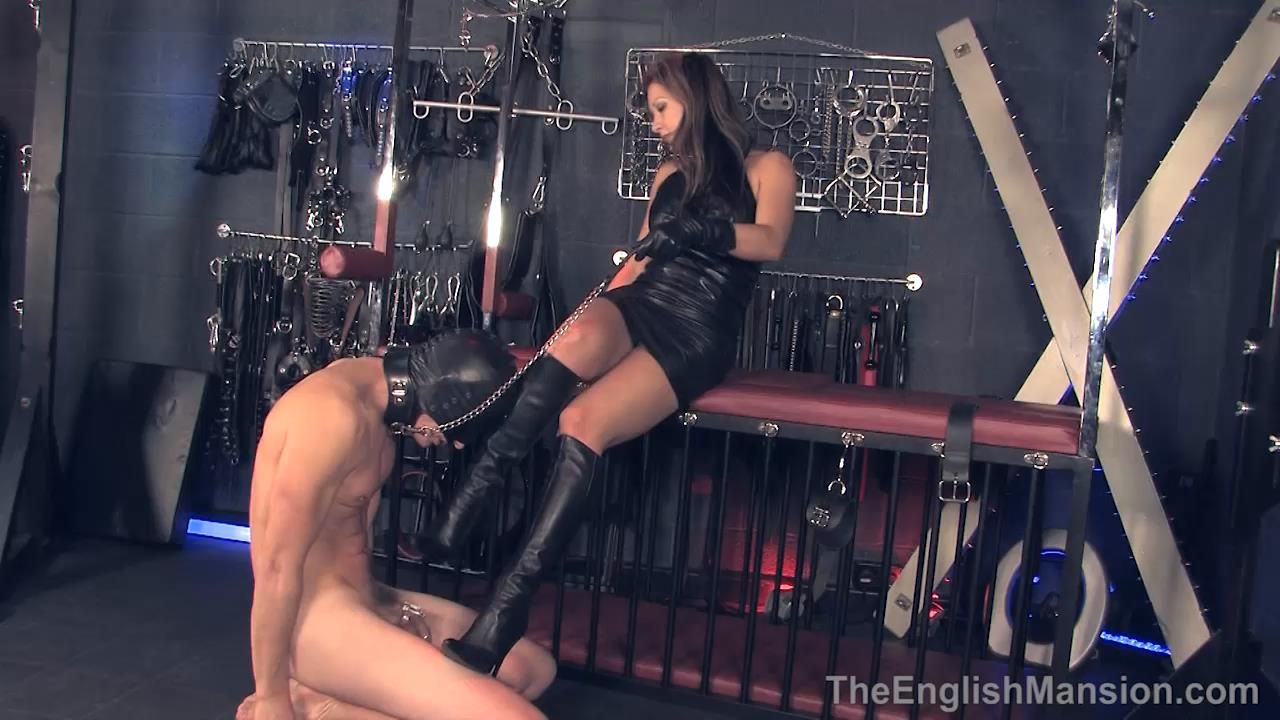 Miss Jasmine In Scene: Chastity Boot Worship - THEENGLISHMANSION - HD/720p/MP4