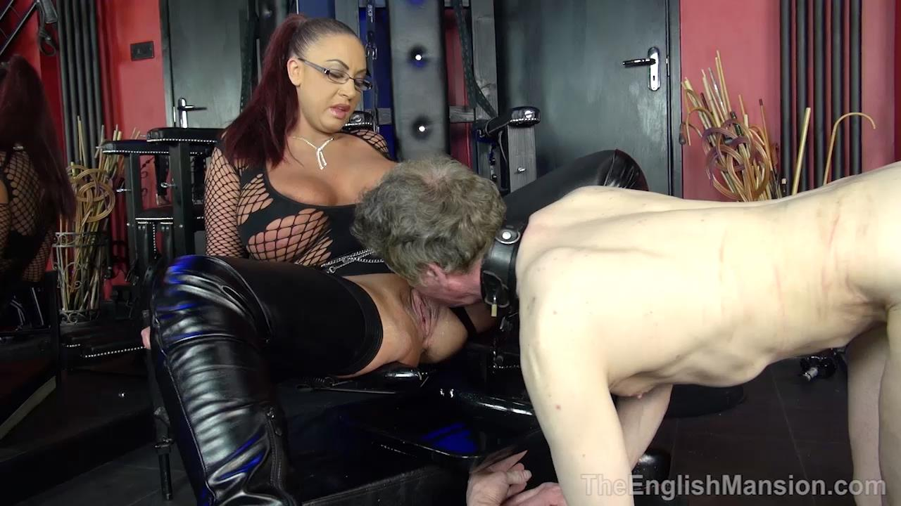 Mistress Pandora In Scene: Queening Session - THEENGLISHMANSION - HD/720p/MP4