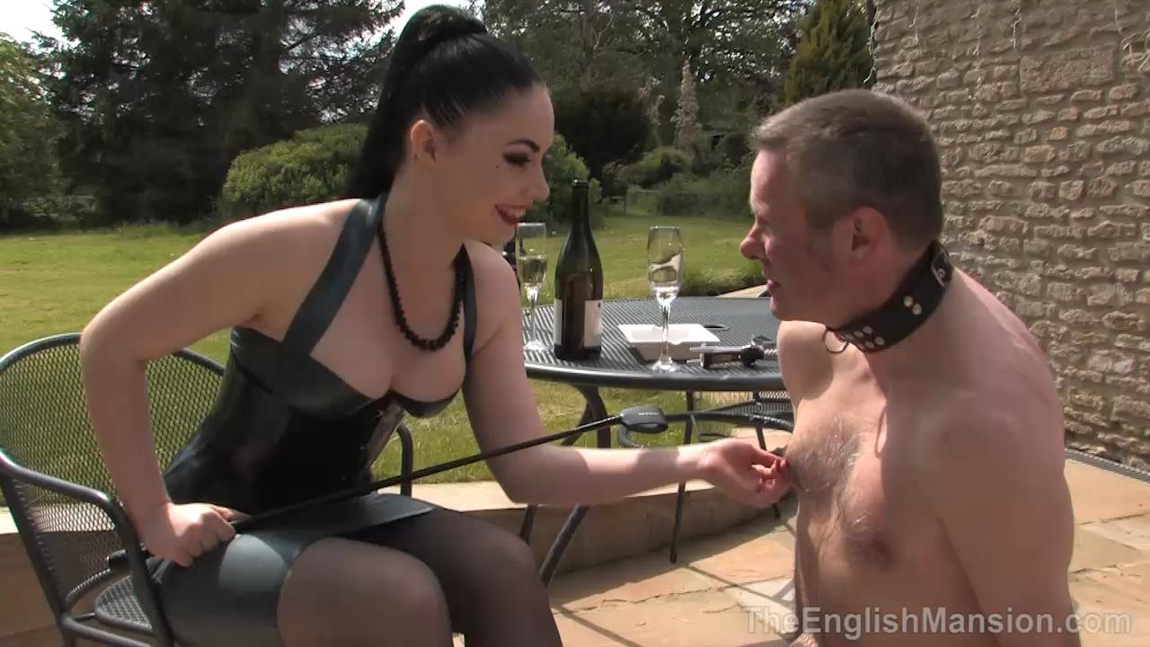 Lady Sophia Black In Scene: In Service to Lady Sophia - THEENGLISHMANSION - HD/720p/MP4