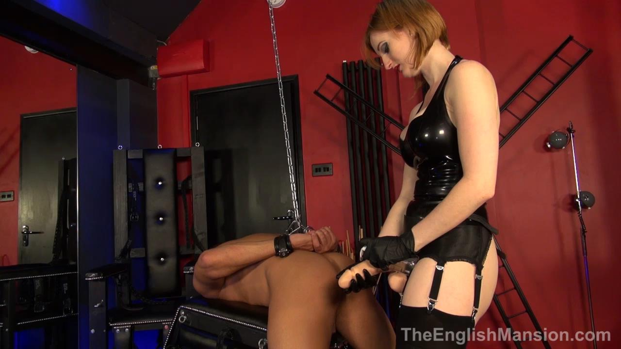 Miss Zara In Scene: Bondage Strapon - THEENGLISHMANSION - HD/720p/MP4