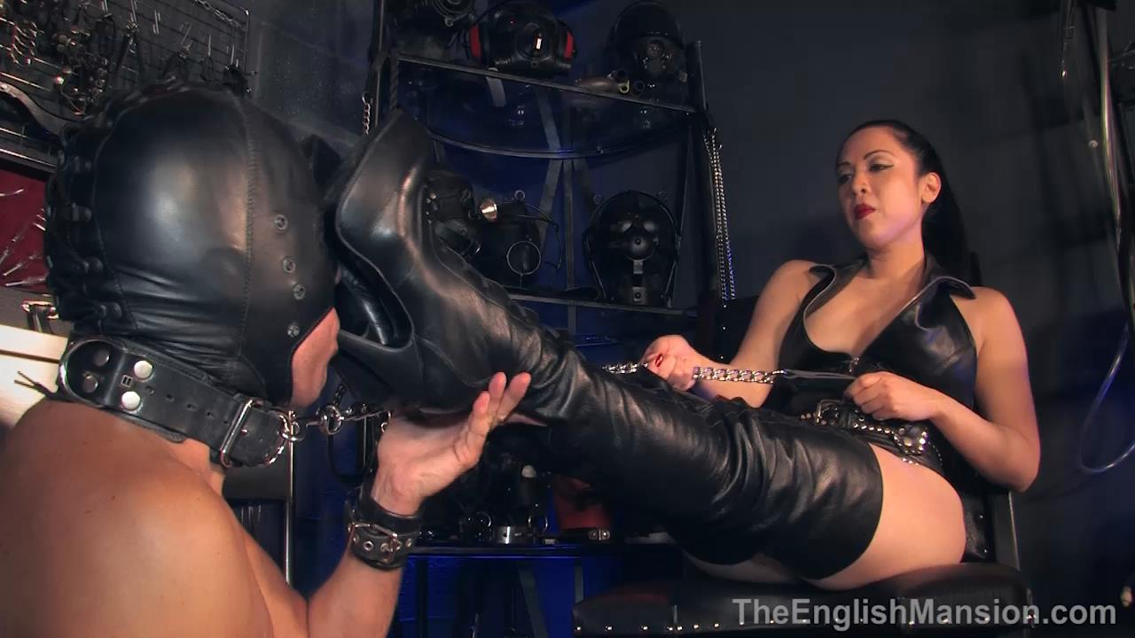 Lydia Supremacy In Scene: Torment and Pleasure Boots - THEENGLISHMANSION - HD/720p/MP4